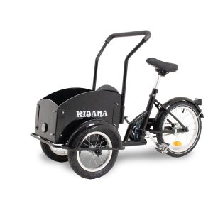 Kijana mini cargo bike nero