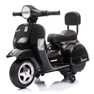 Mini scooter elettrico per bambini vespa nero