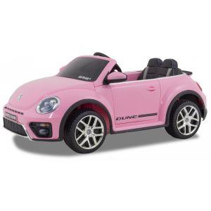 Volkswagen auto elettrica per bambini Dune Beetle 12v rosa