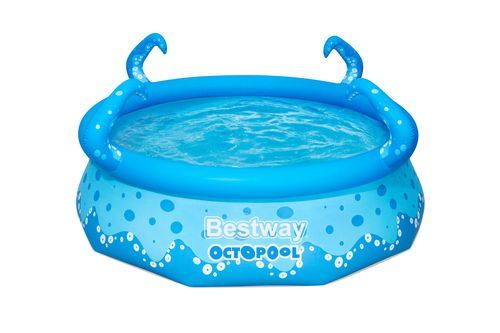 Bestway polpo piscina con tentacoli spray