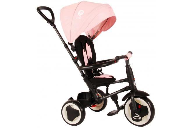 QPlay Triciclo Rito 3 in 1 per bambina rosa deluxe
