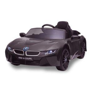 Auto elettrica per bambini BMW I8 nera