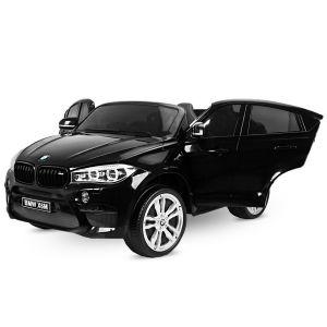 BMW auto elettrica per bambini X6M nera a 2 posti