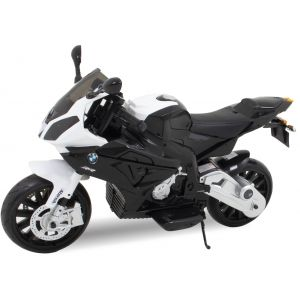 BMW motocicletta elettrica per bambini nera
