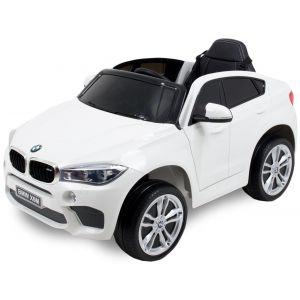 BMW auto elettrica per bambini X6 bianca