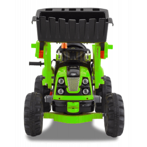 Kijana escavatore elettrico verde