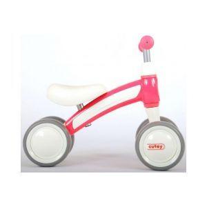 QPlay Cutey Ride On Balance Bike per ragazzi e ragazze rosa