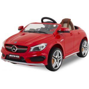 Mercedes auto elettrica per bambini CLA45 AMG rossa