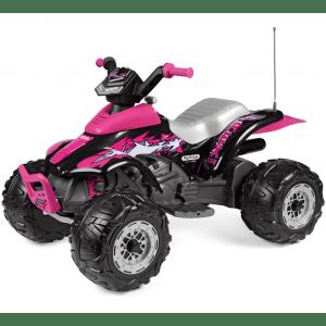 Peg Perego quad elettrico per bambini rosa Corral T-Rex