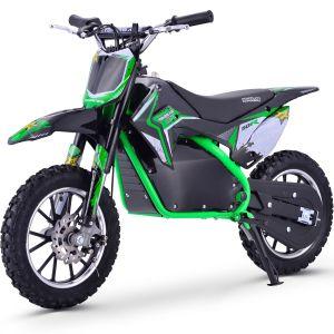 Kijana outlaw dirt bike 500W 9.0AH verde
