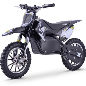 Kijana outlaw dirt bike 500W 9.0AH nero - verde