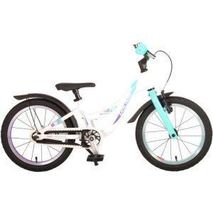 Volare Glamour bicicletta per bambini 16 pollici verde menta madreperla collezione prime