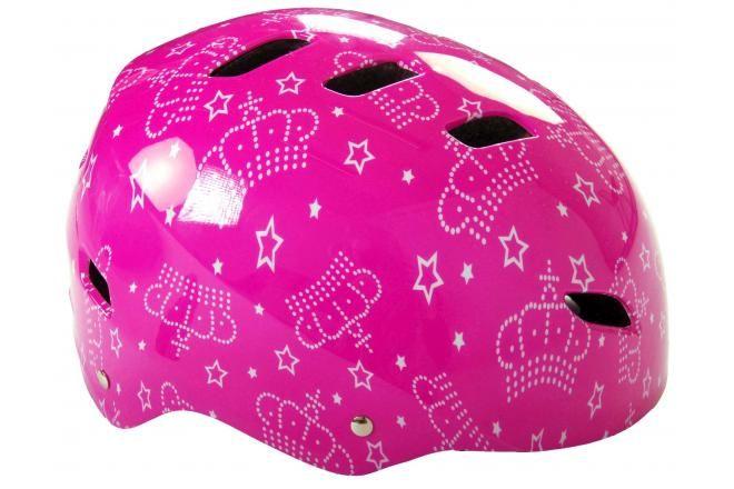 Volare casco da bicicletta / skate rosa 55-57 cm