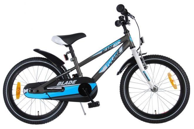 Volare bici per bambini Blade 18 pollici grigio assemblata al 95%