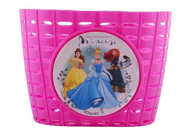 Cestino di plastica delle principesse Disney, rosa