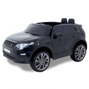 Land Rover auto elettrica per bambini Discovery nera
