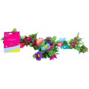 Volare Ghirlanda di fiori per bambine multicolore