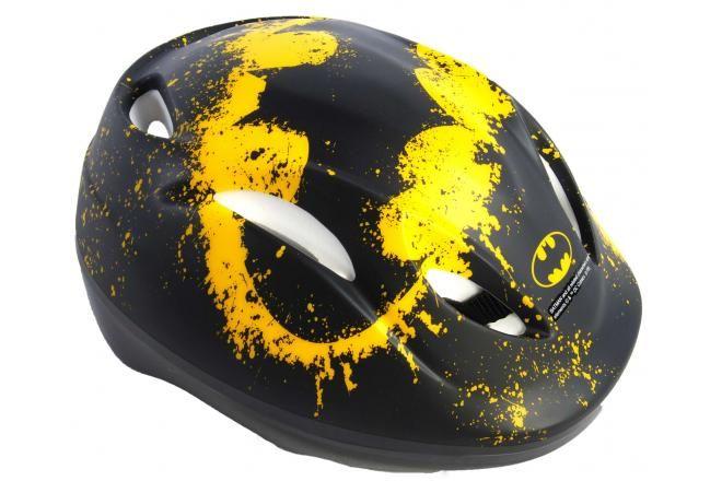 Casco da bicicletta per ragazzi Batman - Nero - 51-55 cm