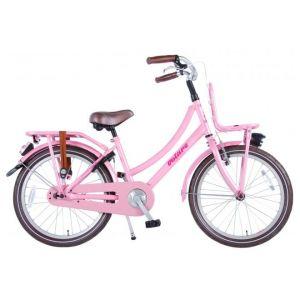 Volare eccellente bicicletta per bambini 20 pollici rosa assemblata al 95%