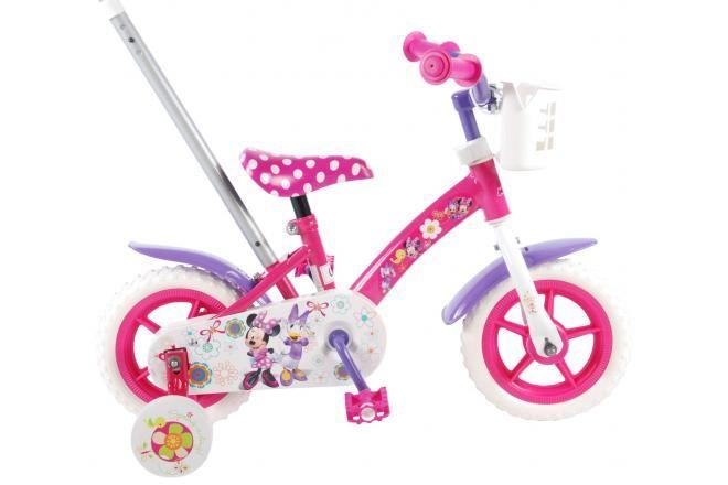 Disney bicicletta per bambini Minnie Bow-tique 10 pollici rosa / bianco / viola