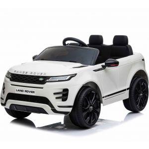 Auto elettrica per bambini Range Rover Evoque bianca