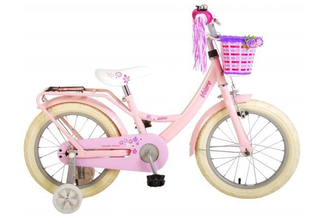 Volare bicicletta per bambini Ashley 16 pollici rosa assemblata al 95%