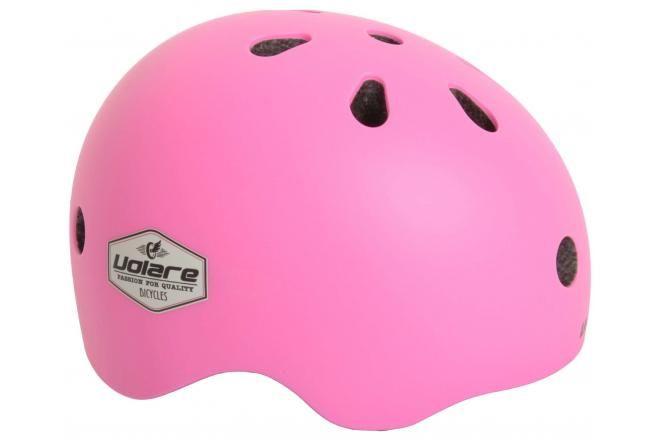 Volare casco per bicicletta per bambini rosa 51-55 cm