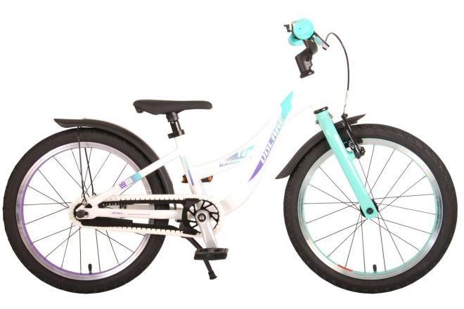 Volare bicicletta per bambini Glamour 18 pollici madreperla verde menta collezione prime