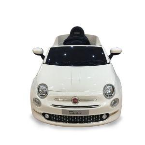Fiat 500 auto elettrica per bambini bianca