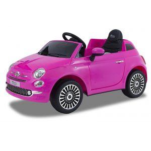 Fiat auto elettrica per bambini 500 rosa