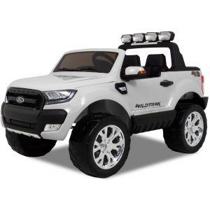 Ford auto elettrica per bambini Ranger bianca