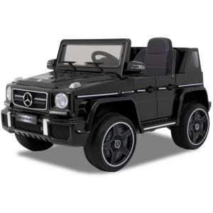 Mercedes auto elettrica per bambini AMG G63 Cabrio nera
