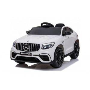 Mercedes auto elettrica per bambini GLC63s 2 posti bianca