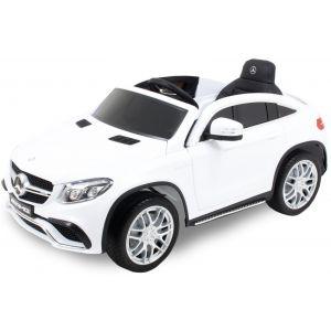 Mercedes auto elettrica per bambini GLE63 AMG bianca