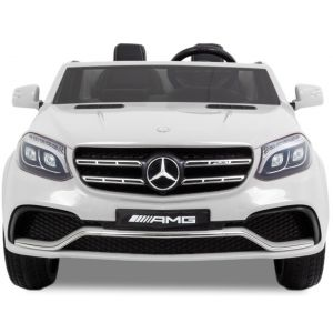 Mercedes auto elettrica per bambini GLS AMG bianca