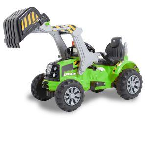 Kijana Kingdom escavatore elettrico verde