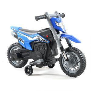 Kijana motocicletta elettrica per bambini 'Cross' blu