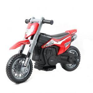 Kijana motocicletta elettrica per bambini 'Cross' rosso