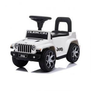Jeep wrangler cavalcabile bianca
