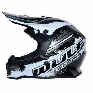 Wulfsport casco per bambini Junior Cub Off Road Pro - nero