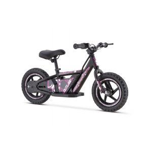 """Outlaw balance bike elettrica 24V al litio con ruote da 12 """"- rosa"""