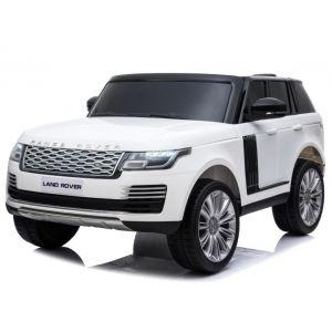 Range Rover auto elettrica per bambini 2 posti bianco
