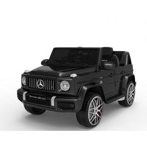 Mercedes auto elettrica per bambini G63 sportiva cabriolet nera