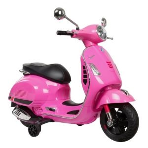 Vespa scooter elettrico per bambini GTS rosa
