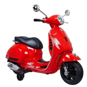 Vespa scooter elettrico per bambini GTS rosso