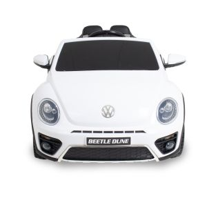 VW elektrische kinderauto Dune Beetle wit