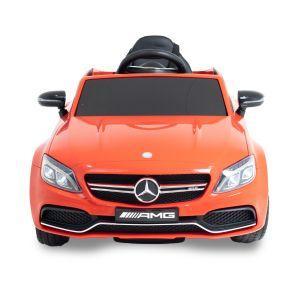 Mercedes auto elettrica per bambini Mercedes C63 AMG rosso