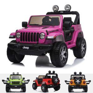 Auto elettrica per bambini Jeep Wrangler rubicon Rosa