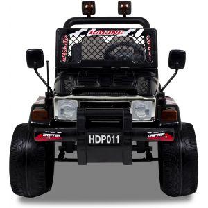 Jeep auto elettrica per bambini nero