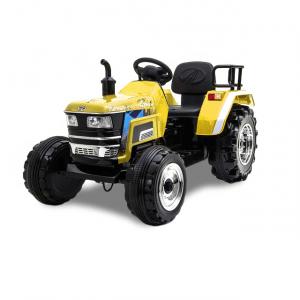 Kijana trattore elettrico giallo 12V